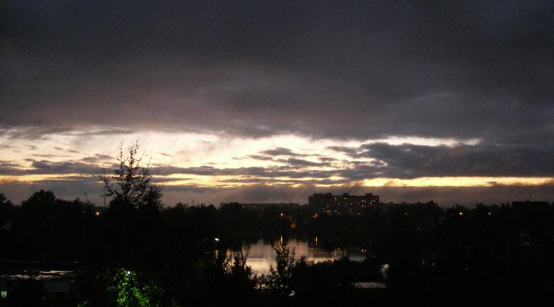 Прореха в дождях Нахабино, осень 2006