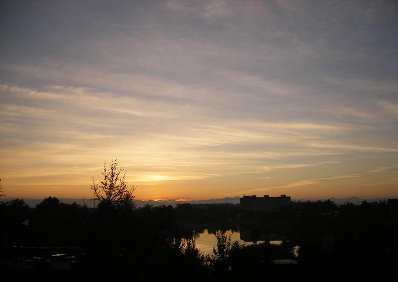 На склоне дня Нахабино, осень 2006