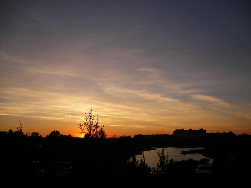 Холодным вечером Нахабино, осень 2006