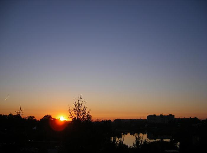 Солнечный шар Нахабино, осень 2006