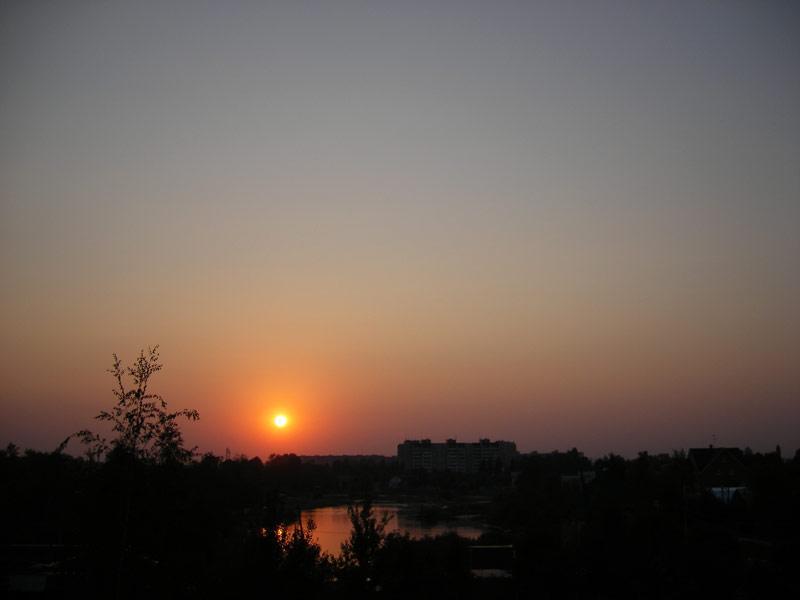 Точка светила Нахабино, лето 2007