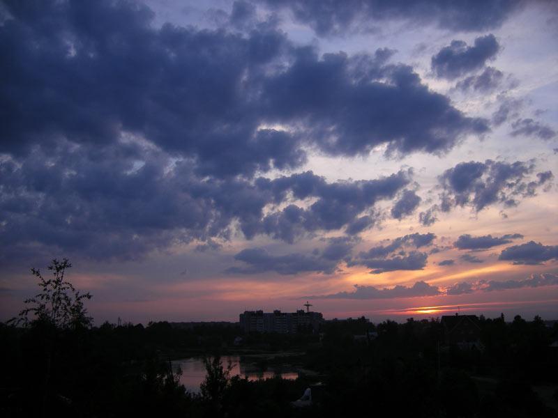 Облачная рябь Нахабино, лето 2007
