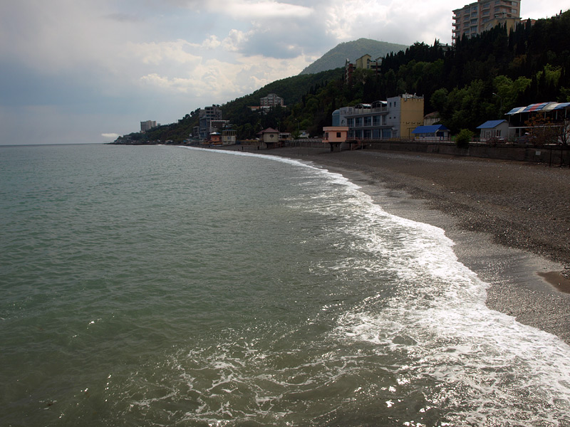 Пена морская. Алушта, Крым, весна 2009