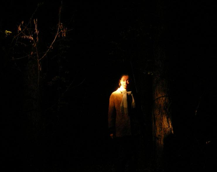 В ночи Нахабино, осень 2006