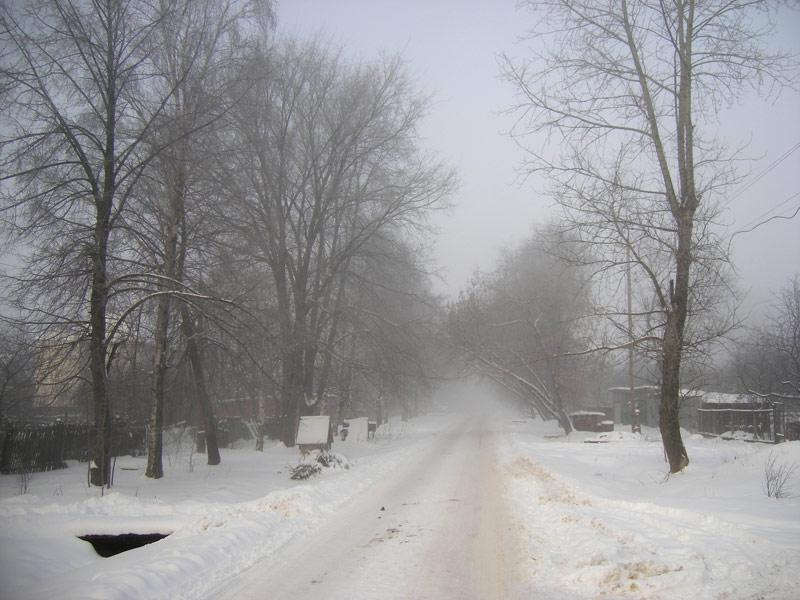 Туманный путь Нахабино, зима 2007