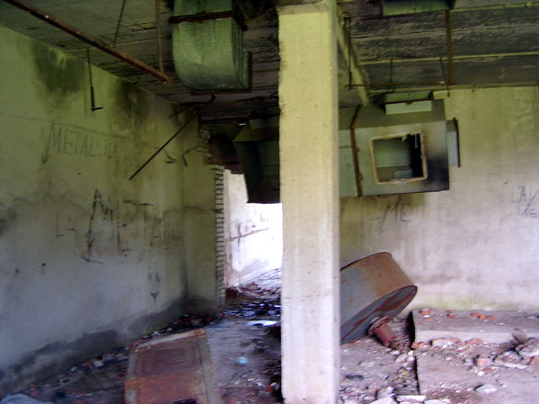 Разрушение и запустение... Толстопальцево, лето 2004