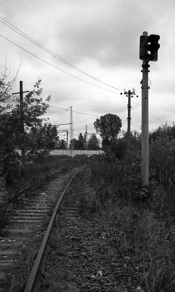 Этот семафор больше не покажет зеленый свет... Нахабино, осень 2006
