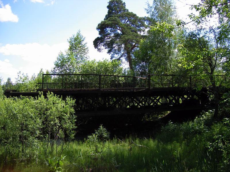 Мост в никуда Николо-Урюпино, лето 2007