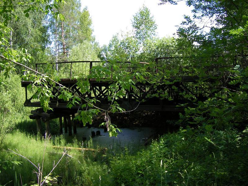 Мост к прошлому... Николо-Урюпино, лето 2007
